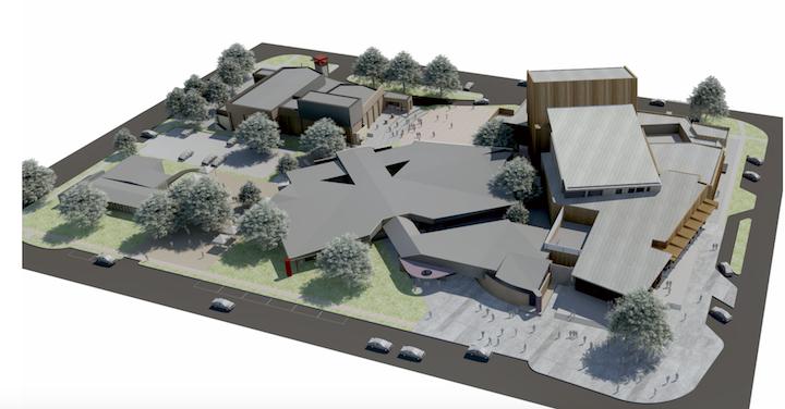 Latrobe Creative Precinct Project in Traralgon, Latrobe Valley.