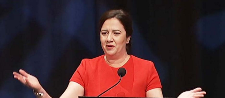 queensland premier announces changes to free trade agreement