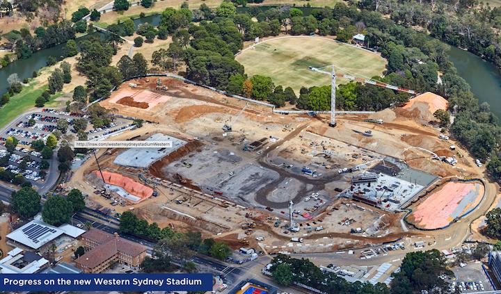 Western Sydney Stadium Project
