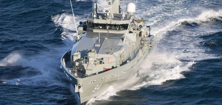 Offshore Patrol Vessel to be built in WA and SA