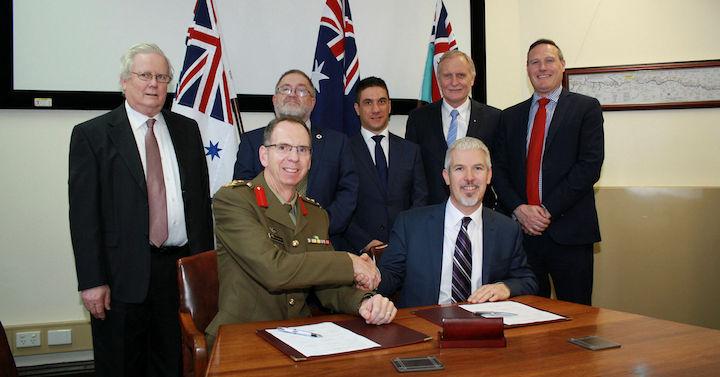 Defence IT tender signing - Australian Tenders