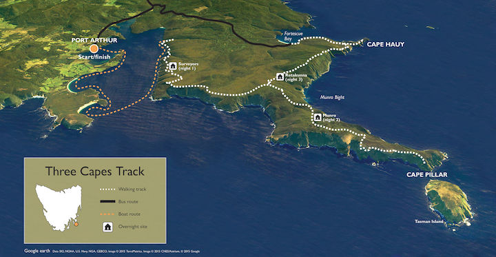 three capes track stage three upgrade - Australian Tenders